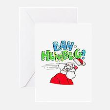 Bah-Humbug! - Greeting Cards (Pk of 10)