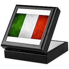 I love Italy Italian flag Keepsake Box