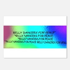 Belly Dance For Peace Postcards (Package of 8)