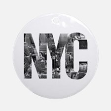 NYC Round Ornament