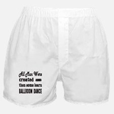 Some Learn Ballroom dance Boxer Shorts