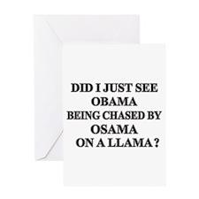 Anti-Obama T-shirts & Gifts Greeting Card