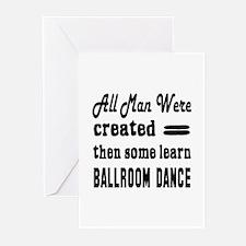 Some Learn Ballroom danc Greeting Cards (Pk of 10)
