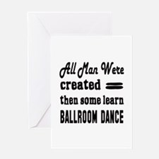 Some Learn Ballroom dance Greeting Card