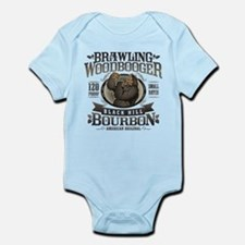 Brawling Woodbooger Black Hill Bourbon Body Suit