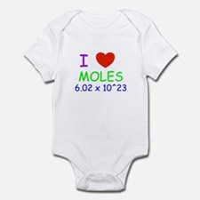 i heart moles Body Suit