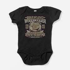 Brawling Woodbooger Black Hill Bourbon Baby Bodysu