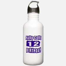 Hard Core 12 Birthday Water Bottle