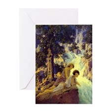 Waterfall Blank Greeting Cards