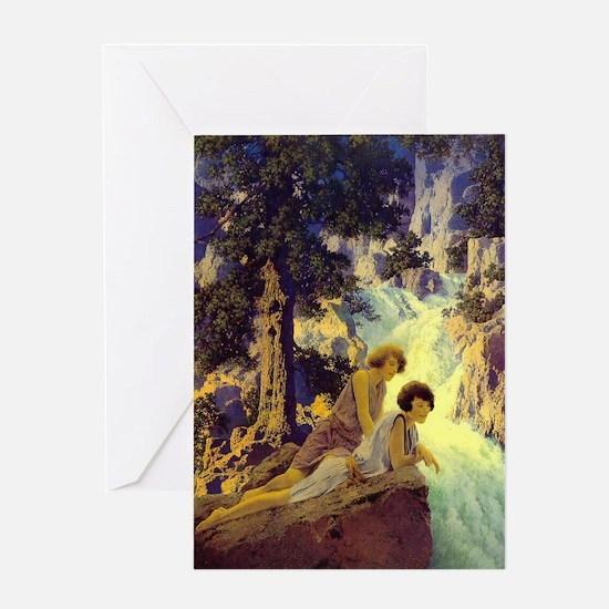 Waterfall Blank Greeting Cards