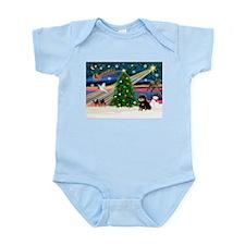XmasMagic/Pom (bt) Infant Bodysuit