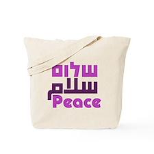 Prayer for Peace Tote Bag