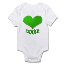 LOVE DOWN Infant Bodysuit