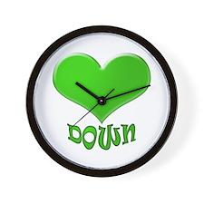 LOVE DOWN Wall Clock