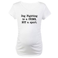 Dog Fighting is a Crime Shirt