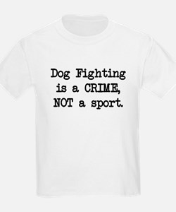 Dog Fighting is a Crime T-Shirt