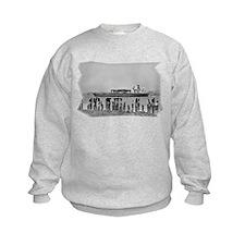 Big Boat with Pylons Sweatshirt