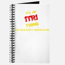 It's ITRI thing, you wouldn't understand Journal