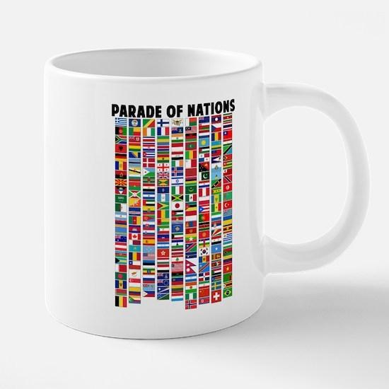 Parade of Nations Mugs