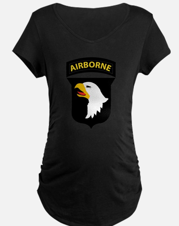101st Airborne Division Logo Maternity T-Shirt