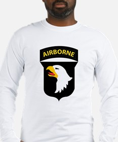 101st Airborne Division Logo Long Sleeve T-Shirt