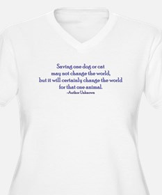 Saving One Life At a Time T-Shirt