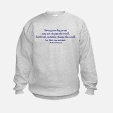 Saving One Life At a Time Sweatshirt