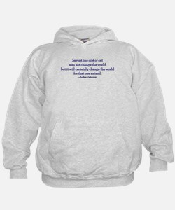 Saving One Life At a Time Hoodie