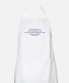 Saving One Life At a Time BBQ Apron