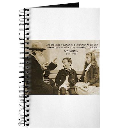 Leo Tolstoy: God Quotes Journal