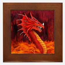 Dragon Terrifier Framed Tile