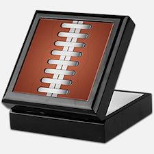 American Football Ball Keepsake Box