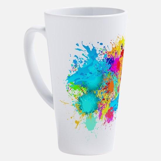 Funny Paintball 17 oz Latte Mug