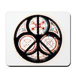 Jewish Peace Window Mousepad