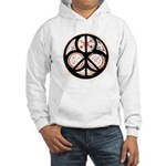 Jewish Peace Window Hooded Sweatshirt