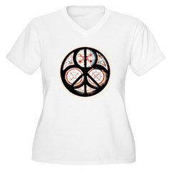Jewish Peace Window T-Shirt