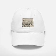 Ancient Rhino Baseball Baseball Cap