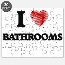 I love Bathrooms Puzzle