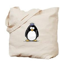 Princess Penguin Tote Bag