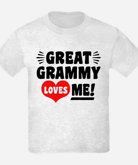 Great Grammy Loves Me T-Shirt