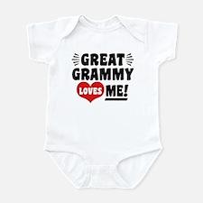 Great Grammy Loves Me Infant Bodysuit