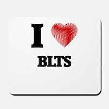 I love Blts Mousepad