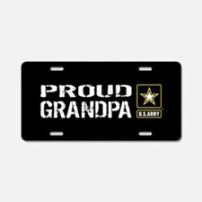 U.S. Army: Proud Grandpa (B Aluminum License Plate