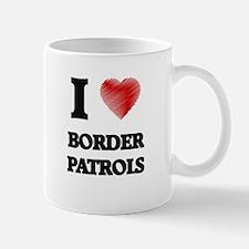 I love Border Patrols Mugs