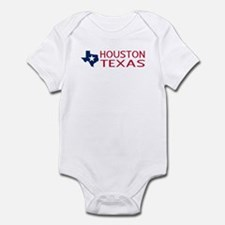 Texas: Houston (State Shape & Star) Body Suit