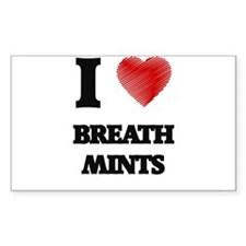 I love Breath Mints Decal