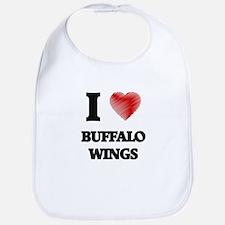 I love Buffalo Wings Bib