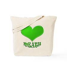 LOVE MEATH Tote Bag