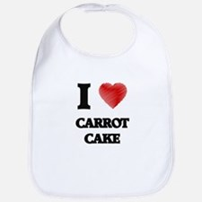 I love Carrot Cake Bib