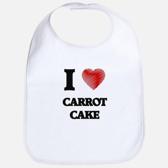 I love Carrot Cake Bib